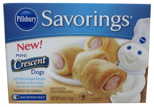 Pillsbury Savorings Mini Crescent Dogs