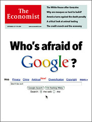 Who's afraid of Google?