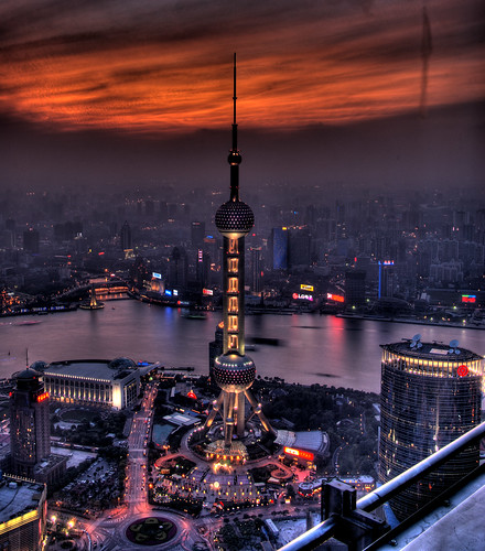 CHINA - Shanghai - The End of the World on Pearl tower