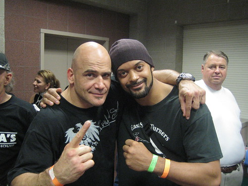 Me and Bas Rutten
