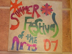 Summer Festival of the arts Tile