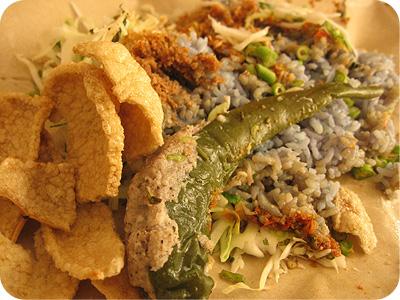 Nasi kerabu #1