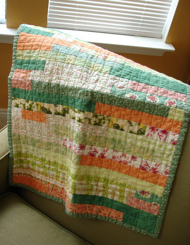 Doll quilt from Wendy