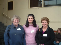 Cathie Lendrum, Alison Wilson and Maxine Mullen