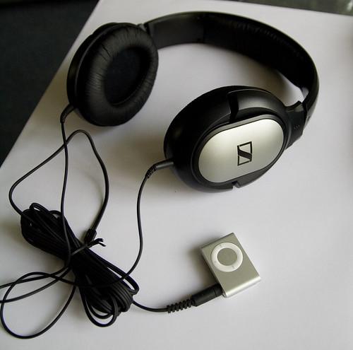 ipod proportion shuffle headphone sennheiser