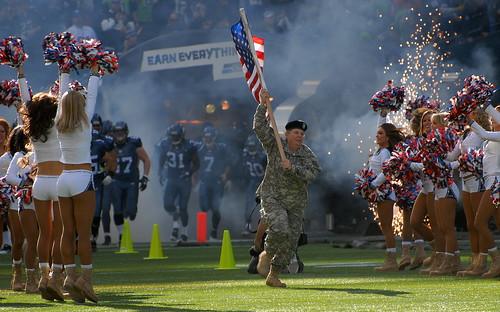 Seahawks Military Appreciation Day