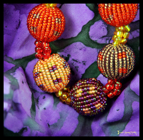 BEADED BEADS CREATED BY THE ZULU