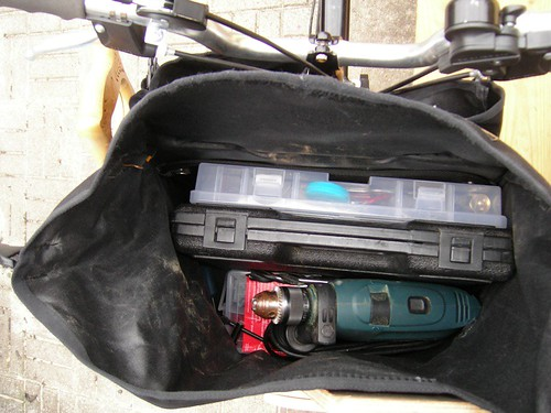Inside the Touring Pannier.