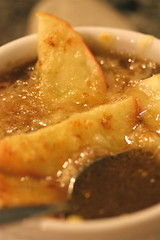 French Onion Soup with Apples