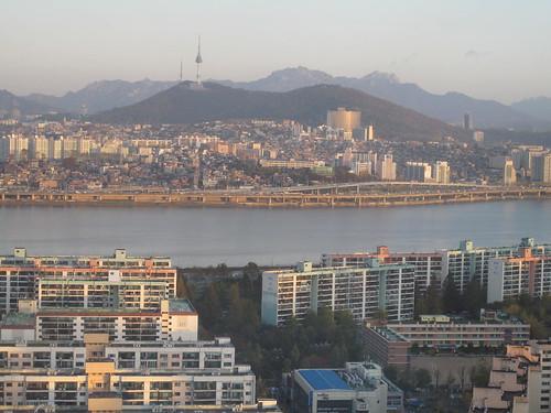 Seoul at dawn