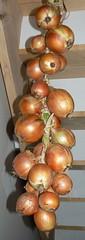 braided walla walla onions