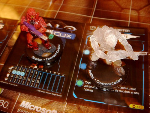 Halo ActionClix game (very detailed figures!)