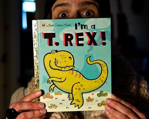 I'm a T. Rex!