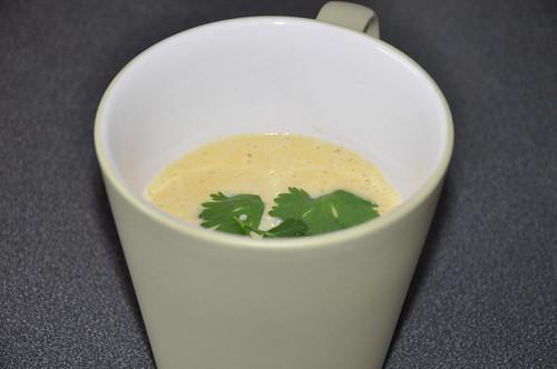 Maissuppe mit Zitronengras