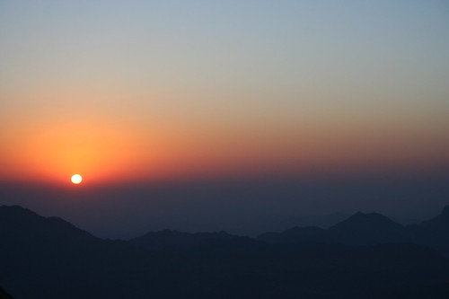 Sunrise over Mt. Sinai