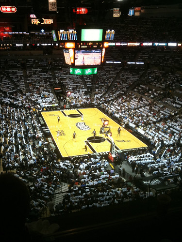 Spurs vs Indiana oct 2010
