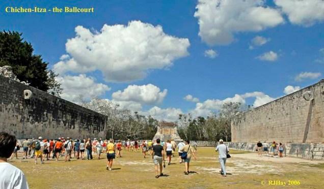 Chichen-Itza - Great Ballcourt