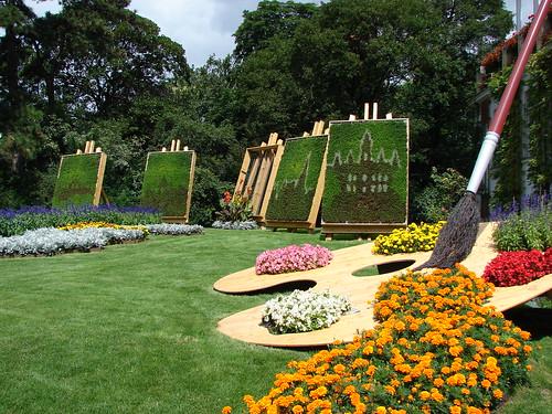 Un jardín espectacular