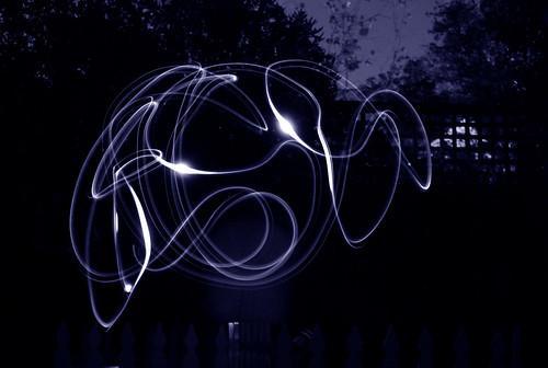 Blue Light Swirel