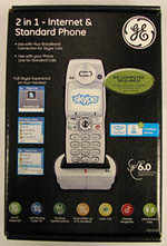GE Skype DECT phone 28310EE1 box