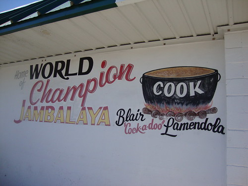 Jambalaya Sign at Lamendola's, Gonzales LA