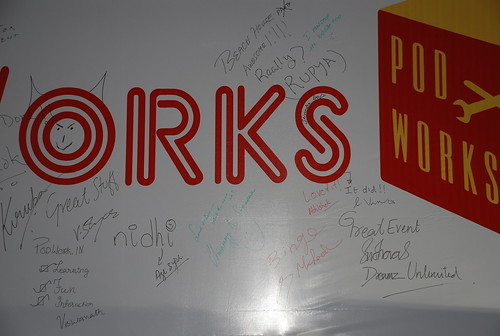 PodWorks Grafiti board