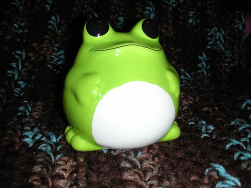 Froggie bank from Daiso