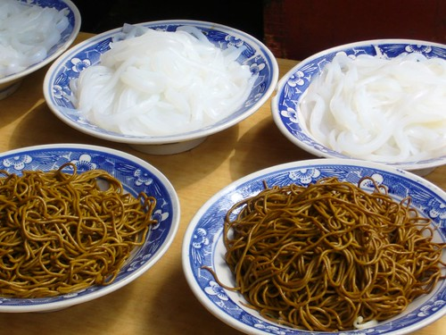Noodles in the Muslim Quarter-Xian