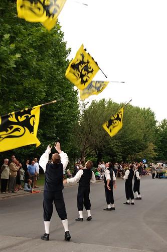Vlaamse vlaggenzwaaiers