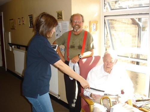 Cheltenham Borough Homes staff help out