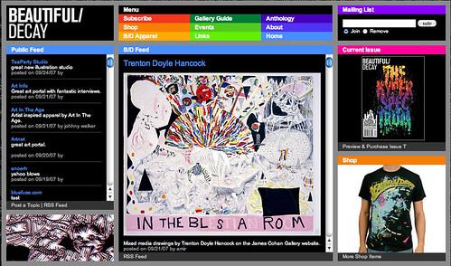 B/D's brand new site September 2007
