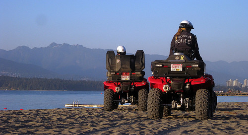 VPD ATV Beach Patrol