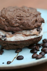 Chocolate Chocolate Espresso Cookie Sandwiches 2