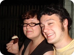 Dave's birthday! Cupcakes!