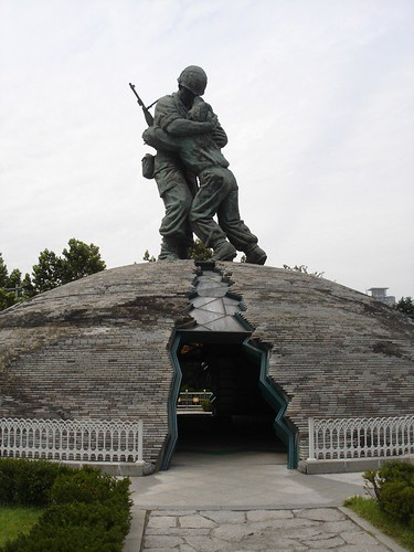 War Memorial, Seoul Korea (Statue of Brothers)