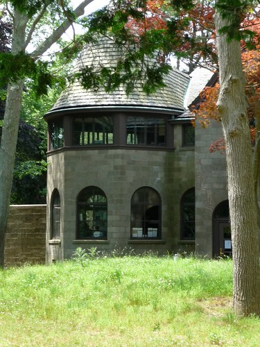 Sleeping porch turret