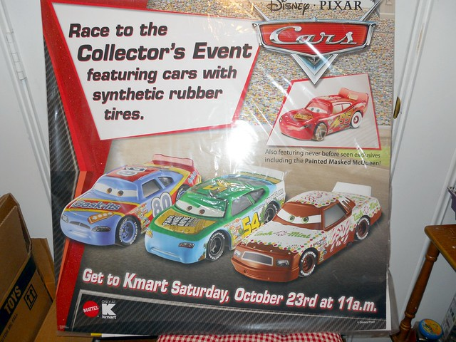 DISNEY CARS KMART COLLECTOR DAY 5 POSTERS (1)