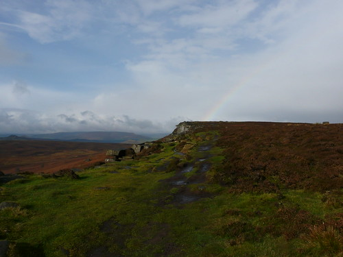 A break in the rain at Stanage