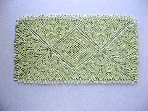 Beautiful!  I love lacework.