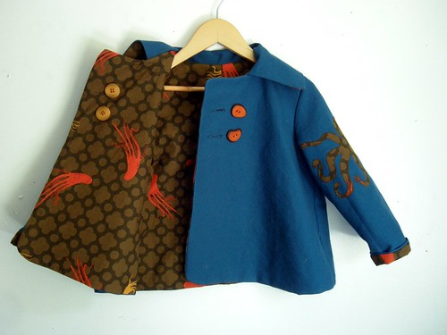Octo Jacket - Blue Side Open