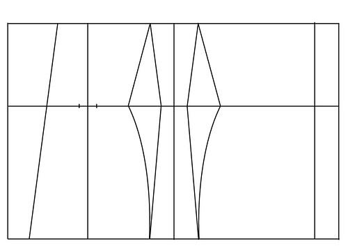 Underbust corset pattern - 16