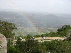 Rainbow (Sadashiva T S) Tags: rainbow karnataka hillstation tumkur ddhills canonpowershots3is
