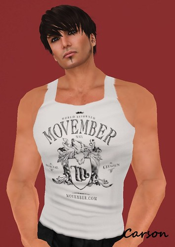Officia Movember Tank -Group Gift-