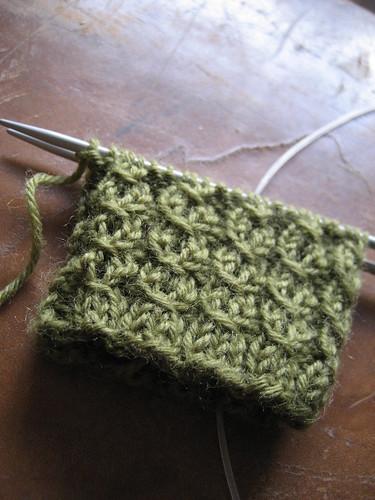 Knitting again