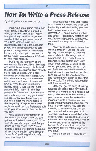 Croq Dec article by me