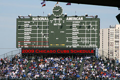 Chicago Cubs Schedule 2009
