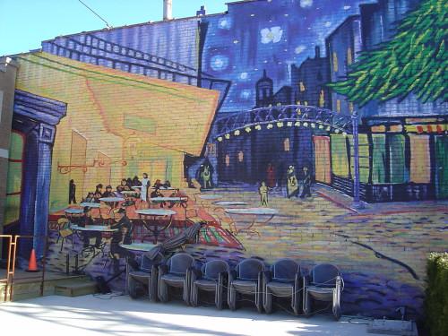 Van Gogh mural