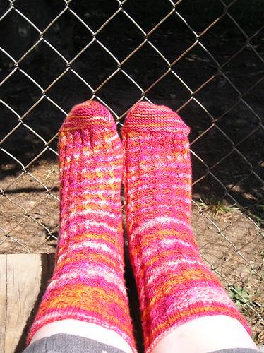 Solstice Slip Socks