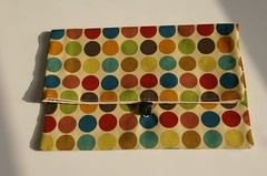 Knitzi project bag - Dots
