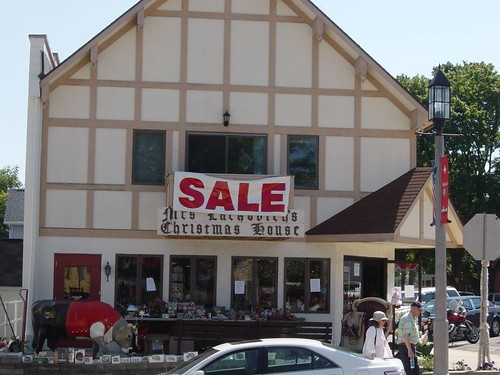 Christmas Shop in New Glarus